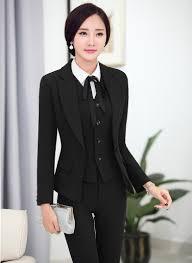online buy whole pantsuit women from pantsuit women 2016 professional formal pantsuits ladies business women suits 3 pieces jackets pants vest