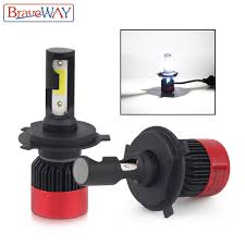 <b>BraveWay H4</b> H7 H11 9005 9006 HB3 HB4 <b>Led Bulb</b> for Auto Small ...