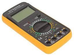 Купить <b>Мультиметр TEK DT 9205A</b> по низкой цене с доставкой из ...
