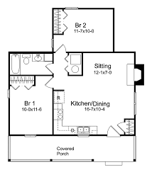 Pinetrail Vacation Home Plan D    House Plans and MoreTraditional House Plan First Floor   D    House Plans and More