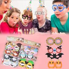 Buy 6 Pieces Mask Set Festival Costume Glasses Party Dress-Up ...