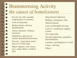 essay on homeless people  wwwgxartorg essay about homelessness causes types of validity in research there are many things that cause people