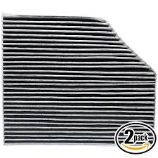 2-Pack Replacement <b>Cabin</b> Air <b>Filter</b> for AUDI <b>8K0819439A</b> Car ...