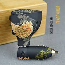 2019 Rich Peony <b>Car Electronic Incense</b> Furnace Burners Device ...
