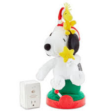 Peanuts® Snoopy Musical <b>Christmas Tree</b>-Lighting <b>Plush</b> ...