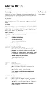 Customer Service Associate Resume Samples   VisualCV Resume     Customer Service Associate Resume Samples