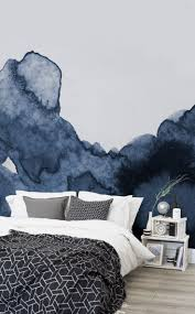 bedroom wallpaper add a splash of colour to your walls literally this watercolor wallpap