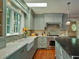 tags blue cabinet kitchen lighting