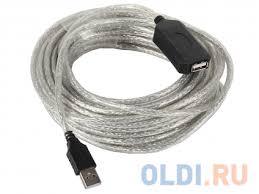 <b>Кабель</b>-адаптер USB2.0-repeater, удлинительный <b>активный</b> Am ...