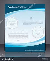 vector layout business flyer magazine cover stock vector  vector layout business flyer magazine cover template or corporate banner design in blue colors