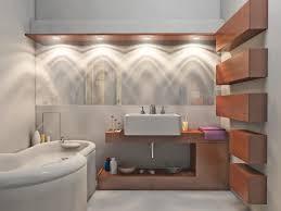bath lighting ideas use this lighting ideas for tiny bathroom with white sink and bathtub near bathroom lighting design modern