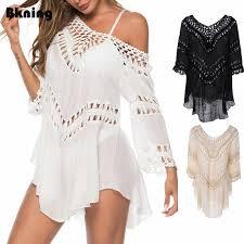 Casual <b>Kaftan Beach Tunic Dress</b> Women <b>2019 Swim</b> Summer ...