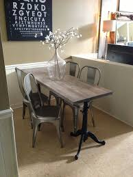 furniture awesome narrow dining room table