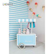 <b>Laeacco Ice Cream</b> Cart Cake Candy House Baby Children Portrait ...