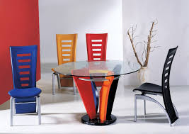 metal dining room chairs chrome:  large size of tables amp chairs beautiful colorful plastic modern dining room chairs metal dining