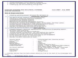 nandakumar system administrator resume