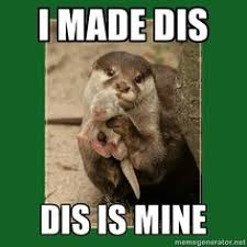 Otters.. Thats right they get their own board on Pinterest   Otter ... via Relatably.com