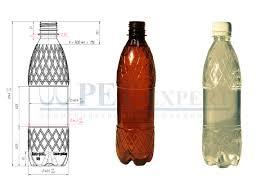 <b>Бутылка 0</b>,<b>5</b> литра пластиковая - предложение Pet-Expert