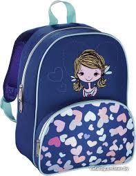 <b>Hama Lovely Girl</b> 139103 (<b>синий</b>/<b>голубой</b>) рюкзак купить в Минске
