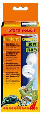 "<b>Лампа Sera</b> ""<b>Reptil rainforest</b> compact"", 5% УФ-B, 20 Вт   Купить с ..."