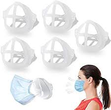 <b>3D Mask</b> Bracket - Oceantree Protect Lipstick Lips - <b>Internal</b> Support ...