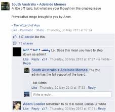 Adam Goodes cops another serve from Adelaide Memes   you said it... via Relatably.com