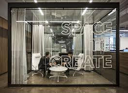 fiftythrees new york office features transparent spaces to create amusing create design office space