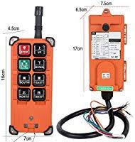 zinnor <b>Industrial Radio</b> Remote Control <b>Winch</b> 24V <b>Wireless</b> Remote ...