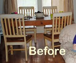 Restaining Kitchen Table Runs With Scraps Refinish An Old Knotty Pine Dining Table The