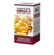 Витрум <b>Омега</b>-<b>3 Плюс</b> таблетки п.о №60 купить в Москве по цене ...