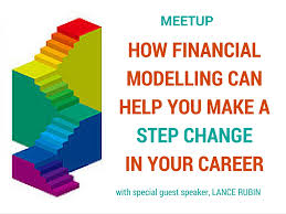 how financial modelling can help you make a step change in your hear from financial modelling expert lance rubin whose financial modelling focus led his own career journey from auditor to corporate finance