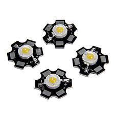 5PCS 1W 80-100LM <b>High Brightness</b> Chip <b>LED</b> Warm White Cold ...