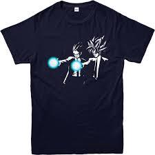 <b>2017 Short Sleeve Cotton</b> T Shirts Man Clothing Dragon Ball Z T ...