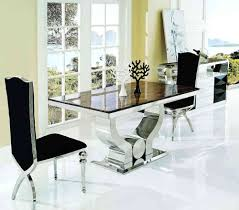 White Marble Dining Table Dining Room Furniture High Excellent Interior Furniture Dining Room Decorating Design