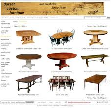 dining table woodworkers: for instance above is page  of  from the dining table section of my ancient website