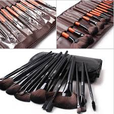Professional Beauty Makeup Cosmetic Brush Set <b>Nylon 24 PCS</b>/<b>Set</b> ...