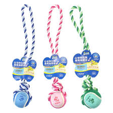 (Soleil) <b>pet dog toy dog</b> bite-resistant toy <b>molar</b> toy training toy cotton ...