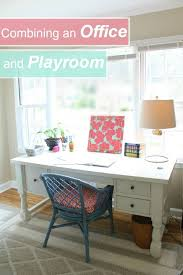 three steps to combining an office playroom space apartment living blog forrent amazing playroom office shared space