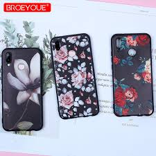 Phone Case For Huawei P10 Lite <b>3D Relief Flower</b> Patterned ...