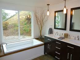 kohler archer tub bathroom eclectic with pendant lights slate soaking bathroom pendant lighting ideas