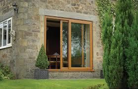 glass patio doors exterior