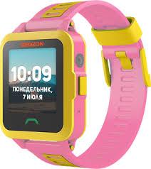 Купить <b>Умные часы Geozon Active</b> Pink по выгодной цене в ...