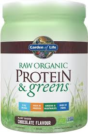Raw Organic Protein & Greens Chocolate - 458g - Garden of Life