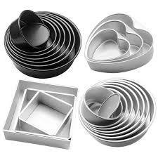 Aluminum Alloy baking dish <b>Cake Mold Anode</b> Surface Removable ...