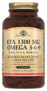 Биодобавка <b>Комплекс</b> жирных кислот EFA 1300Mg <b>Omega 3-6-9</b> ...
