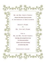 invitation templates templates and invitations  wedding invitation renaissance design microsoft office template