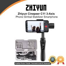 Zhiyun <b>Cinepeer C11 3-Axis</b> Phone Gimbal Stabilizer Smartphone ...