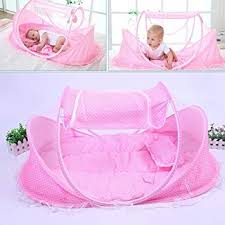 Amazon.com : AUTOLOVER <b>Baby Travel</b> Bed, <b>Baby</b> Bed <b>Portable</b> ...