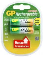 <b>GP</b> Rechargeable 2xAA <b>2700</b> mAh – купить <b>аккумулятор</b> ...