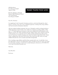 sample teacher cover letter informatin for letter cover letter cover letter example for teachers cover letter